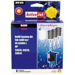 ActiveJet APH-K20 czarny, system uzupełnień do HP 3x28ml + 1x28 płyn do czyszczenia głowicy