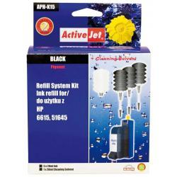 ActiveJet APH-K15 czarny, system uzupełnień do HP 3x28ml + 1x28 płyn do czyszczenia głowicy