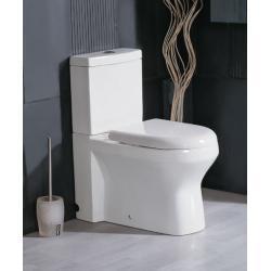 WC stojące WA101 z deską wolnoopadającą i spłuczką Muszle