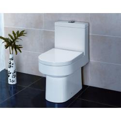 TA345P WC stojące z deska wolnoopadająca i spłuczką Muszle