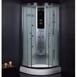 DZ945F3 100/100cm białe szkło tylne Sauny i akcesoria