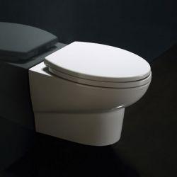 Misa WC podwieszana WD379P z deską wolnoopadającą Muszle
