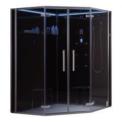 DZ995F12 czarna narożna 150/150cm Kabiny i brodziki
