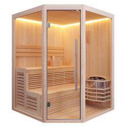 E1801A 180/180 Sauna Fińska Sauny i akcesoria