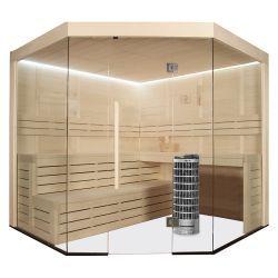 AWT E1201A drewno topolowe 236x236 9kW Cilindro Sauny i akcesoria