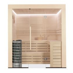 AWT sauna E1202A drewno topolowe 267x198 9kW Cilindro