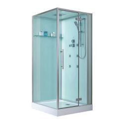 Kwadratowa kabina prysznicowa EAGO Sapphire D989 100x100 lewa Dom i Ogród