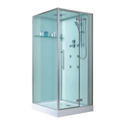 Kwadratowa kabina prysznicowa EAGO Sapphire D989 100x100 prawa Dom i Ogród
