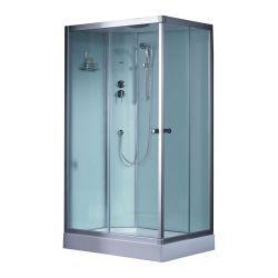 Prostokatna kabina prysznicowa EAGO 1000-4IH 100x80 Lewa Dom i Ogród