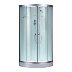 Półokragła kabina prysznicowa EAGO 900-26IH 90x90 biała  Pozostałe