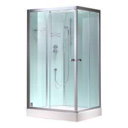 Prostokatna kabina prysznicowa EAGO 1000-4GH 100x80 Lewa