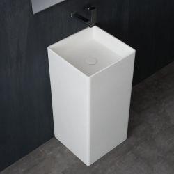 Umywalka wolnostojąca Eago LZ507 biała połysk Wyposażenie