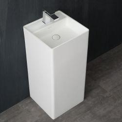 Umywalka wolnostojąca Eago LZ512 biała połysk Wyposażenie