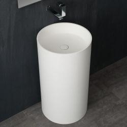 Umywalka wolnostojąca Eago LZ508 biała połysk Dom i Ogród