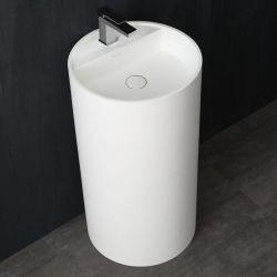 Umywalka wolnostojąca Eago LZ513 biała połysk Dom i Ogród