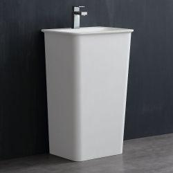 Umywalka wolnostojąca Eago LZ502 biała połysk Dom i Ogród