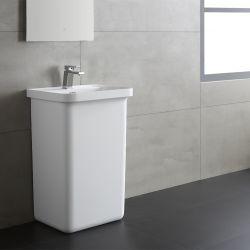 Umywalka wolnostojąca Eago LZ518 biała połysk Dom i Ogród
