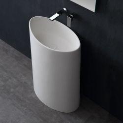 Umywalka wolnostojąca Eago LZ503 biała połysk Dom i Ogród
