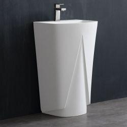 Umywalka wolnostojąca Eago LZ501 biała połysk Dom i Ogród