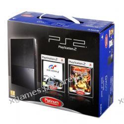 Konsola PS2 P+ Gra GT4 + Gra Tekken 5