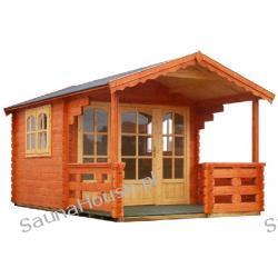 Domek ogrodowy z tarasem RAFAEL 300x500