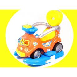 Pojazd Pchacz Jeździk Kołyska 3w1 +MP3 BABY MIX