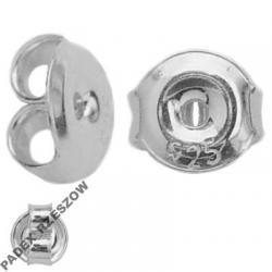 Zatyczki, Baranki 5,3 mm srebro 925 PARA