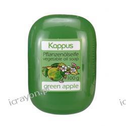 Kappus - mydło glicerynowe zielone jabłuszko, 100g.