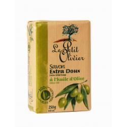 Le Petit Olivier - naturalne mydło w kostce oliwa z oliwek, 250g.