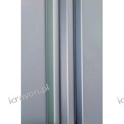 Profil do metalizowanych płyt dekoracyjnych, Srebrny Polerowany