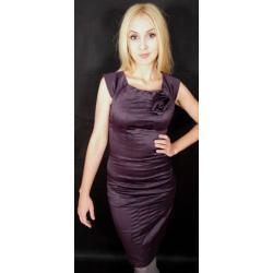 Sukienka ołówkowa FIOLET -50% r.36