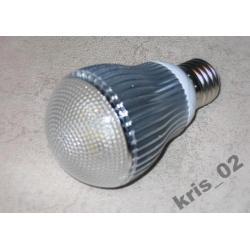 ŻARÓWKA LED E27/230 5x1W 425 lm CZYSTA BIEL