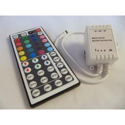 STEROWNIK KONTROLER TAŚMA RGB LED TAŚM 44 klawisze