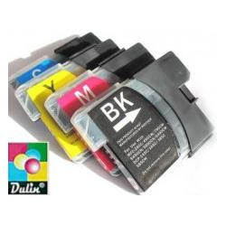 Set do Brother DCP-145C DCP-165C LC-980 LC-1100...