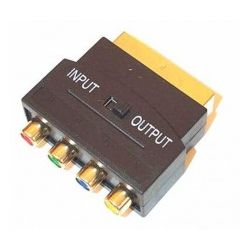 Kabel Scart Adapter RGB Component YUV...