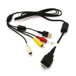Kabel Adapter AV USB do Sony CyberShot VMC-MD2...