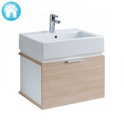 Zestaw łazienkowy Koło Twins, umywalka + szafka, 50 x 52 x 46, L59001