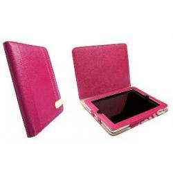 Krusell Gaia iPad Case - eko-skóra, różowy 9.7