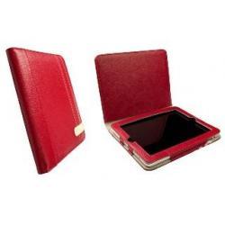 Krusell Gaia iPad Case - eko-skóra, czerwony