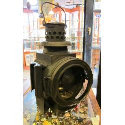 Kolejowa lampa naftowa z XIX w