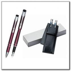 Długopis Pióro lub Roller Etui Ekoskóra