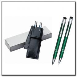 Długopis i Ołówek Etui Ekoskóra