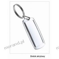 brelok akrylowy, zawieszka do kluczy, brelok informacyjny, brelok do kluczy 40x50