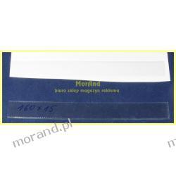 samoprzylepna kieszonka z folii 40x140 mm Biuro i Reklama