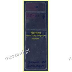 identyfikator zawieszka folia 2 kieszenie 39x74 39x32 12 Biuro i Reklama
