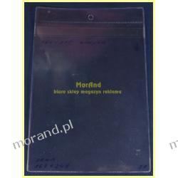 identyfikator zawieszka magazynowa folia A5 162x217 21a bez klapki Biuro i Reklama