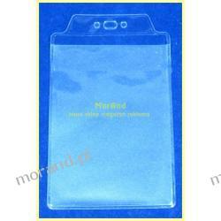 identyfikator pionowy foliowy 58x90
