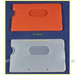 etui kieszen pokrowiec plastik kolor na karte magnet 88x54 a17 Akcesoria biurowe