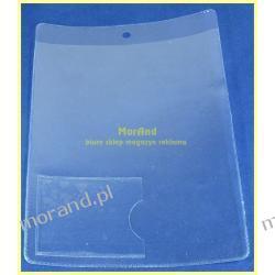 identyfikator pionowy foliowy 110x145 z kieszenia 53x42