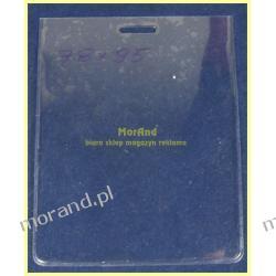 identyfikator pionowy foliowy 78x95